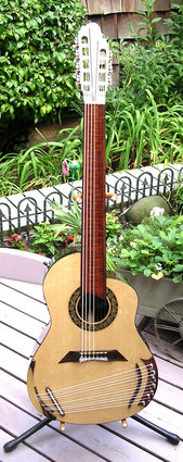 A special thanks to Bob Archigian of La Bella Strings for his Input on this Instrument.